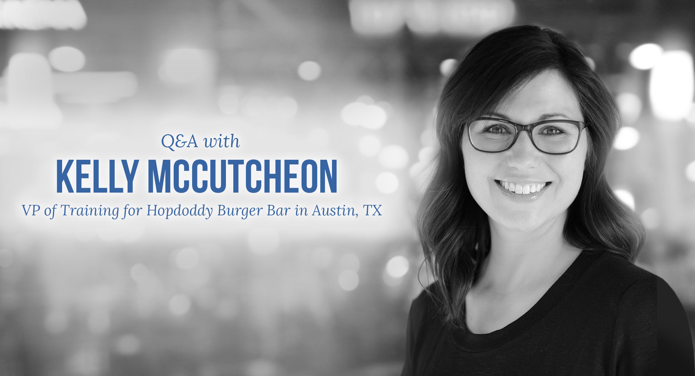 Q&A with Kelly McCutcheon